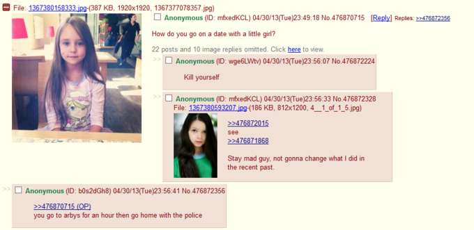 typical day on 4chan (O_o)