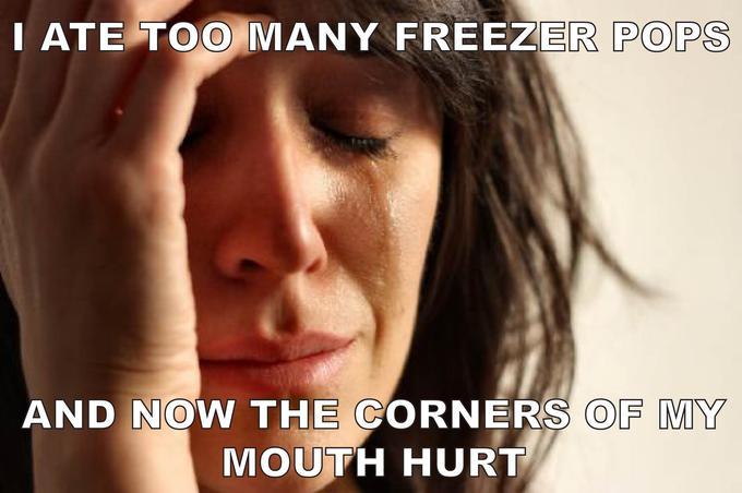 Too Many Freezer Pops