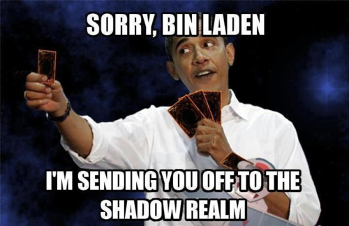 Obama sent Osama to the Shadow Realm