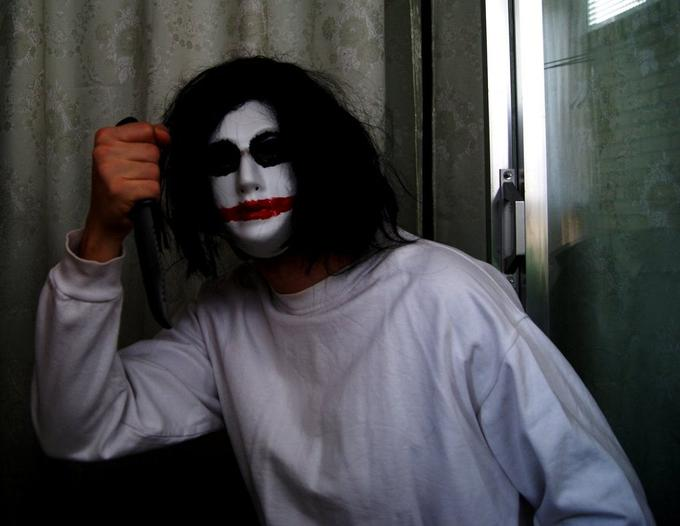 Jeff The Killer Mask 02