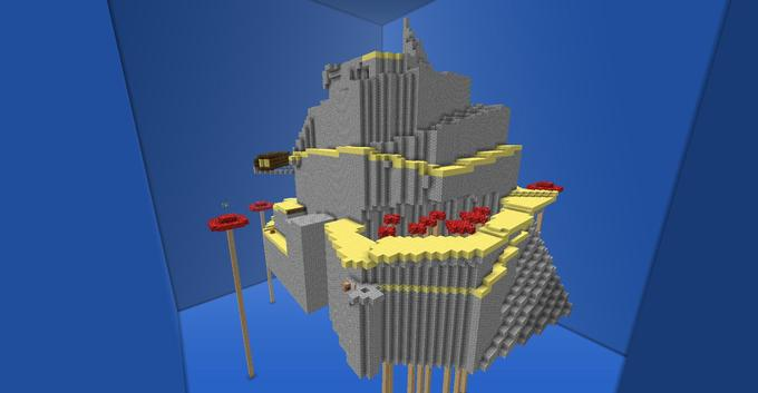 Mario 64: Tall Tall Mountain