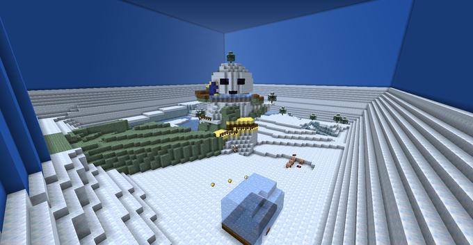 Mario 64: Snowman's Land