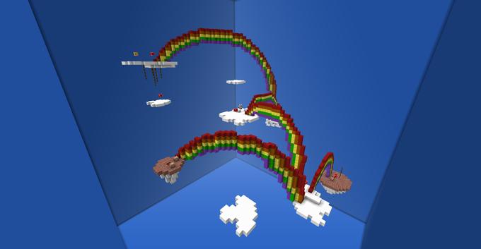 Mario 64: Wing Mario Over the Rainbow