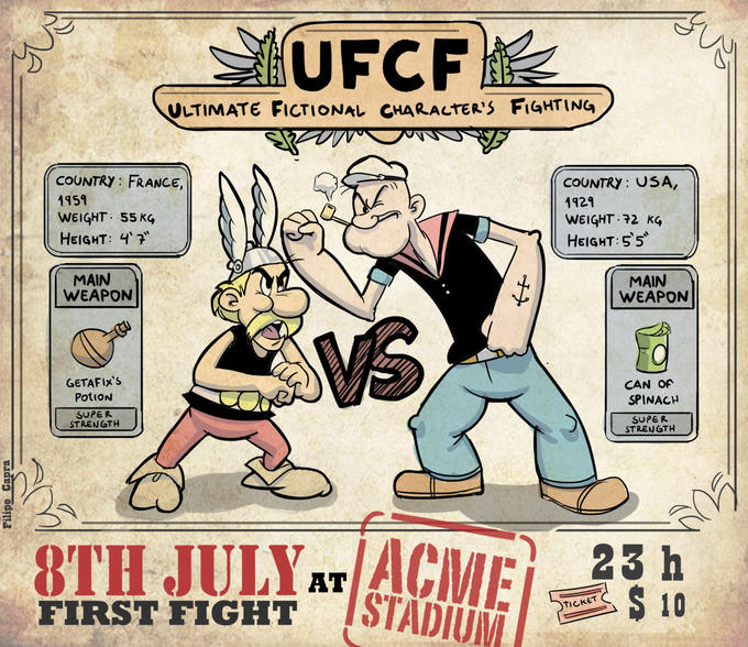 Popeye vs. Asterix