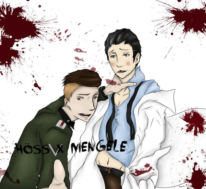 Hoess/Mengele Yaoi