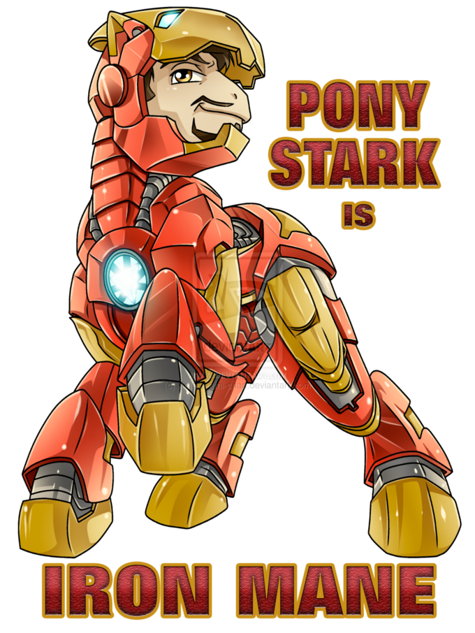 Pony Stark is Iron Mane