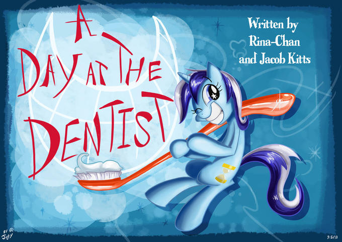 A Day at the Dentist Title Card