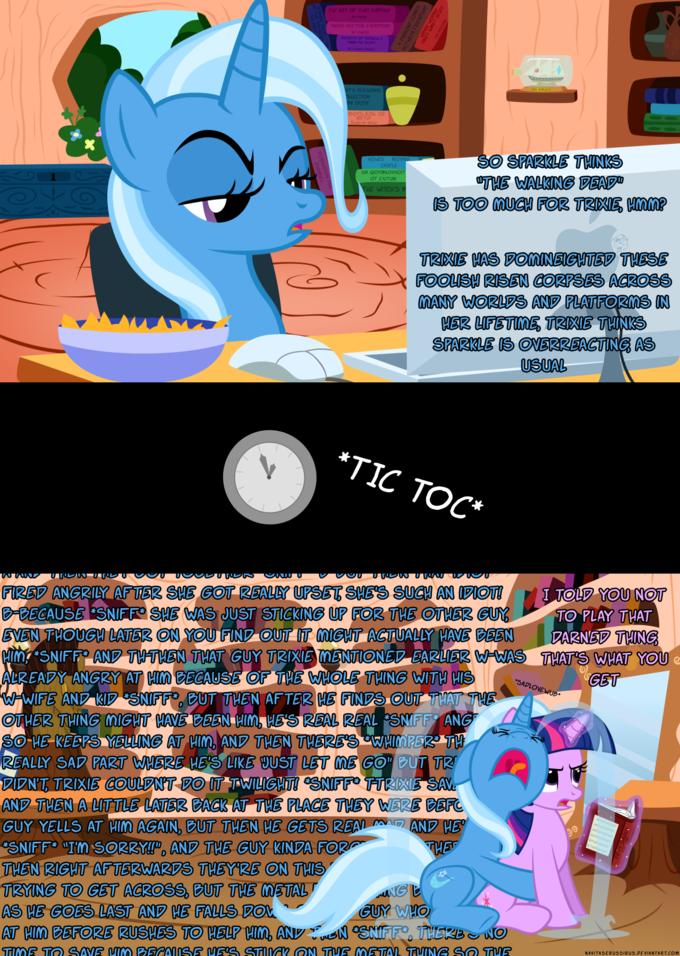 Trixie Plays TWD