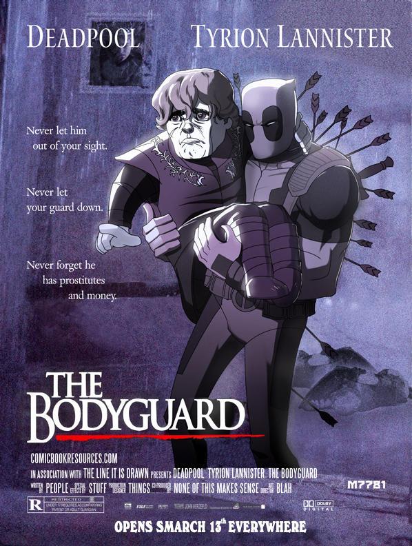 Deadpool, Tyrion Kannister : The Bodyguard