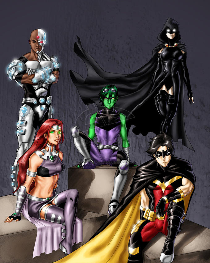 Teen Titans ENHANCED (Not ruined like that crap on CN right now)