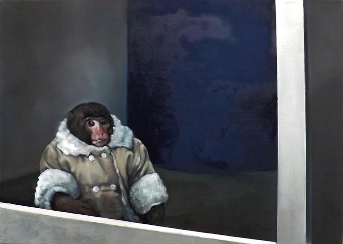 IKEA Monkey - oil on canvas (40x60)