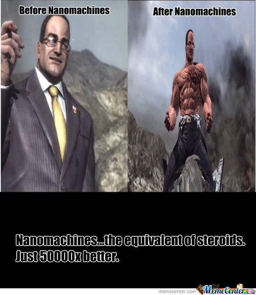 Before and after - Nanomachines