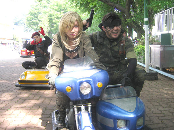 METAL GEAR SOLID 3 CHASE SCENE - COSPLAY EDITION!!!