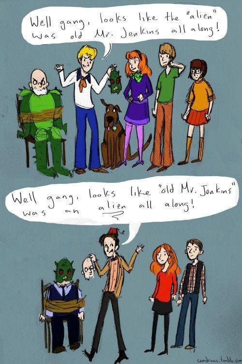 Doctor Who vs. Scooby Doo