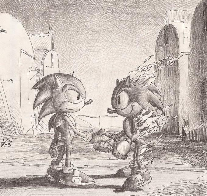 Wish you were here - Sonic meets Pink Floyd