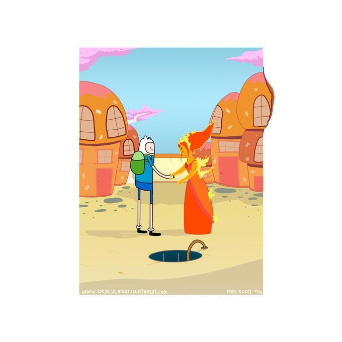 Adventure Time X Pink Floyd