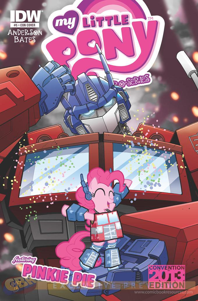 MLP:FiM Transformers Crossover Comic