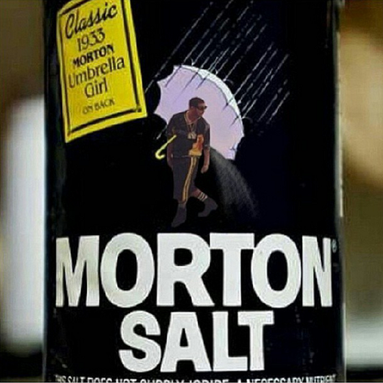 Morton Salt's new mascot