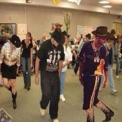 Drake does the Square dance