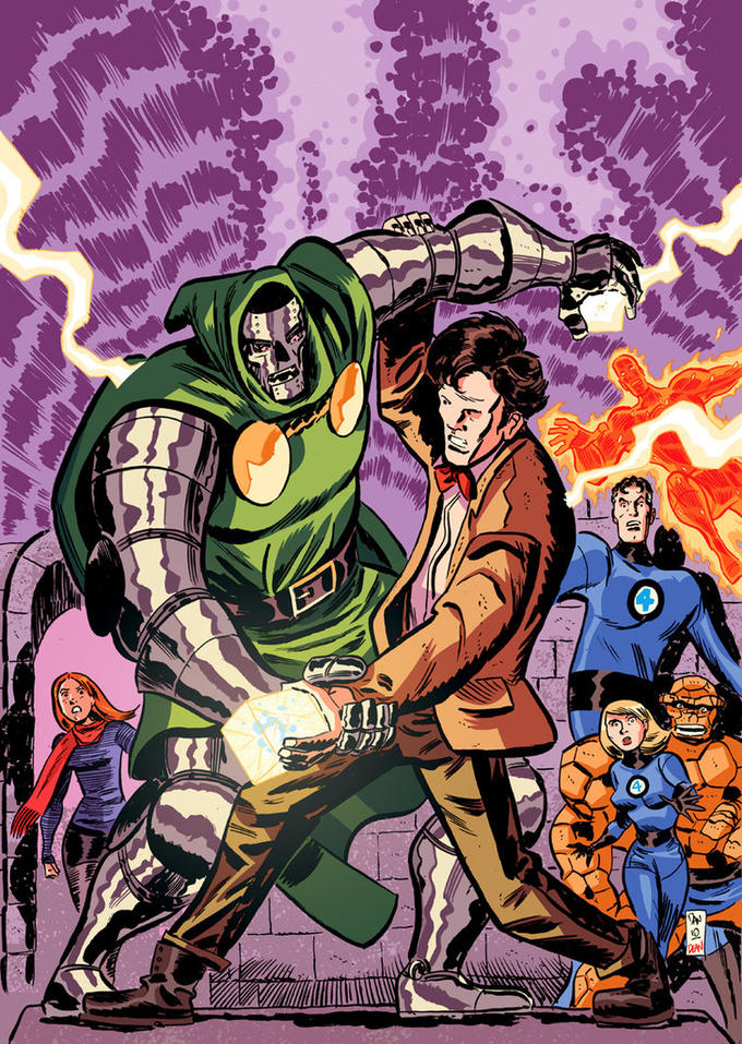 Doctor Who vs. Doctor Doom