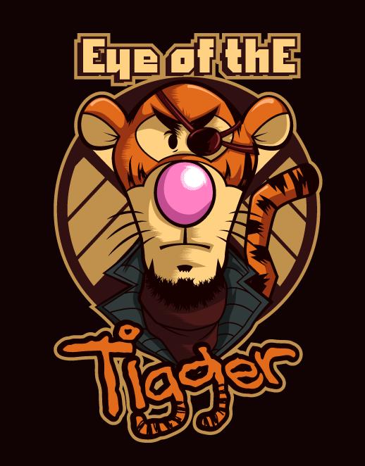 Eye of tigger