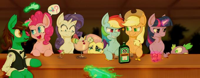 Six mares walk into a bar...