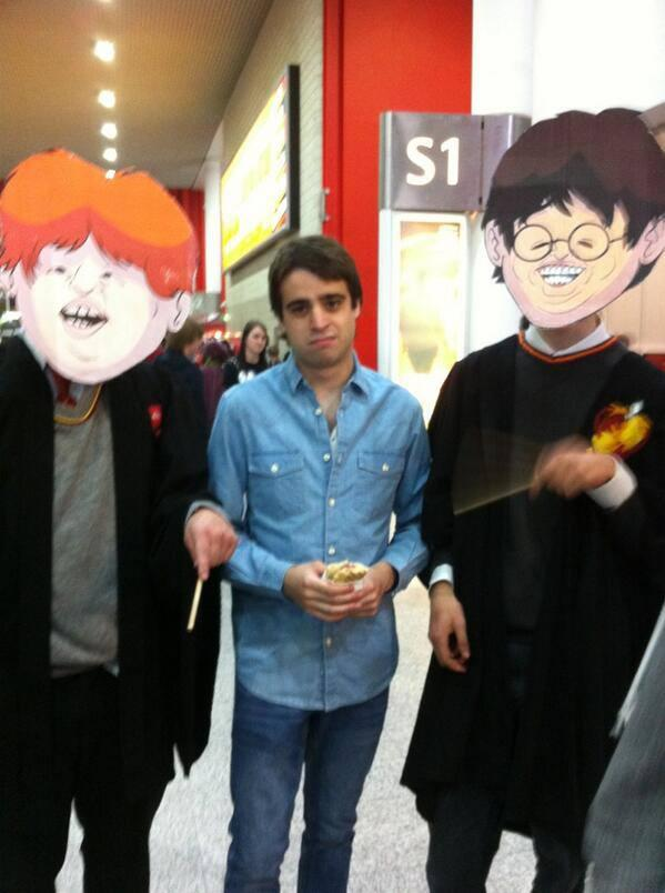 OneyNG's Ron and Harry Potter Cosplay