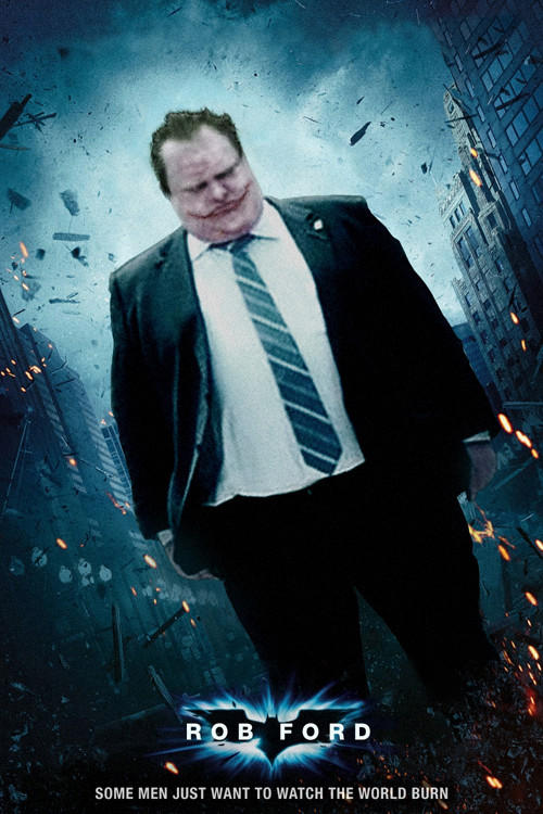 Rob Ford - The Dark Knight