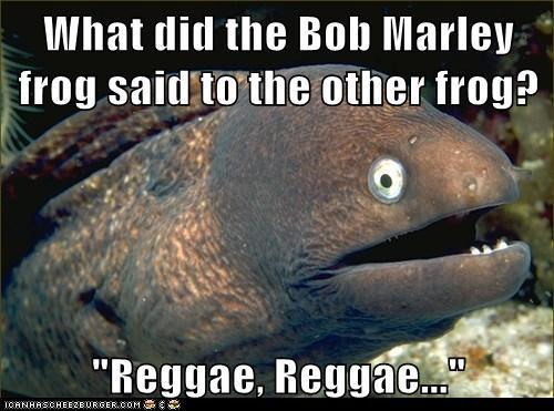 Bob Marley frog