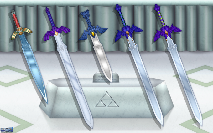 Evolution of the Master Sword