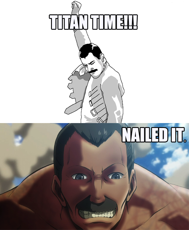 Freddie Mercury? IN MY TITANS?!?!