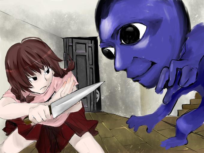 「Madotsuki VS Ao Oni」