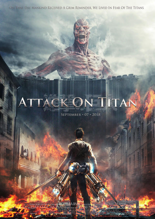 Attack on Titan Poster (Live Action Version)