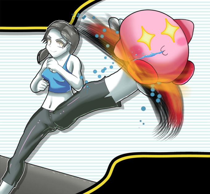 wii fit trainer hot