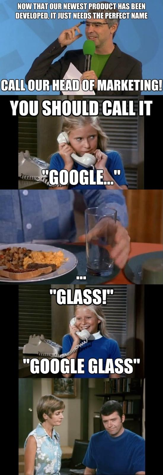 Naming of Google Glass