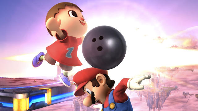 Hey Mario, Do you want to go bowling?