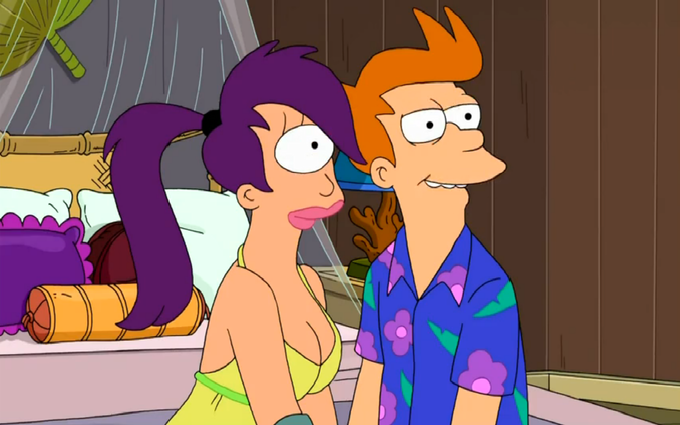 Fry is getting laid tonight