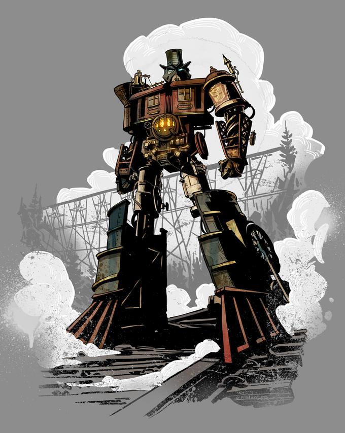 Locomutus Prime by Brian Kesinger