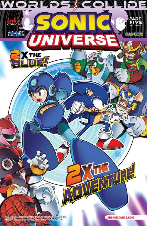 Megaman & Sonic
