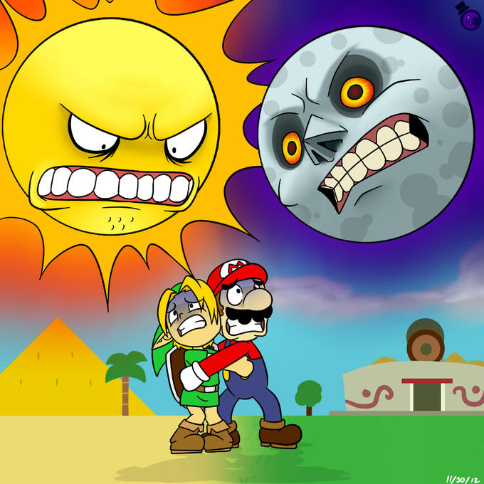 Link's and Mario's Nightmare