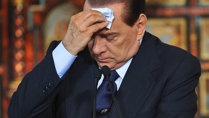 Sweating Towel berlusconi