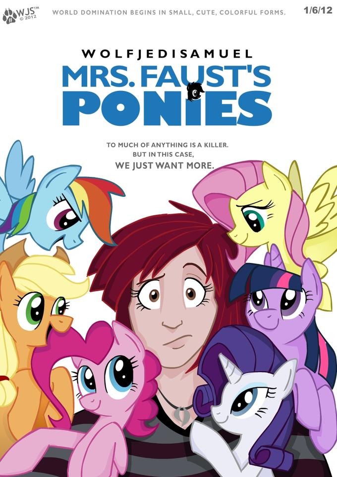 Mrs. Faust's Ponies