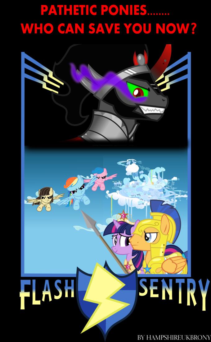 Flash Sentry Movie Poster