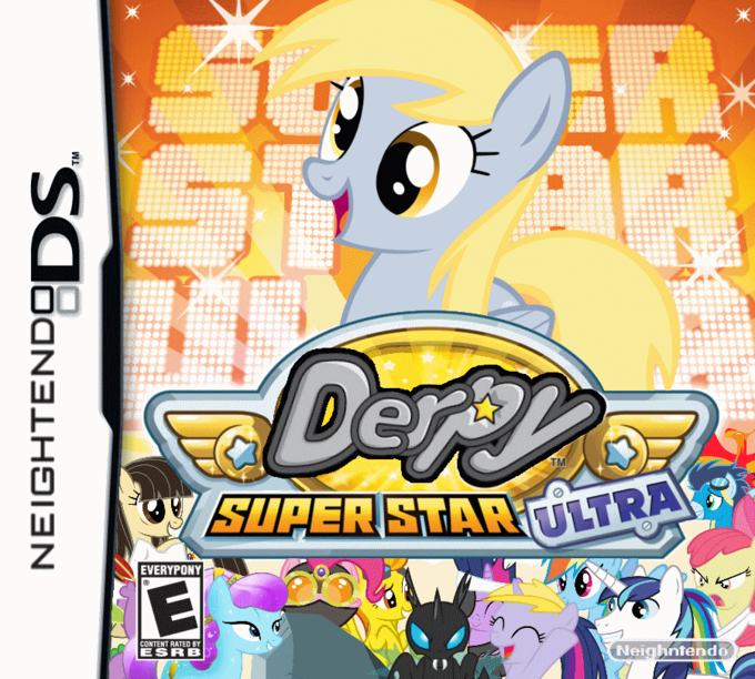 Derpy Super Star Ultra