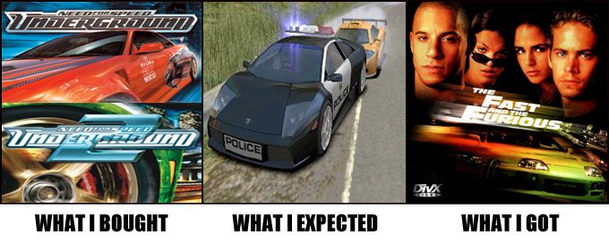 Totally Not Need For Speed