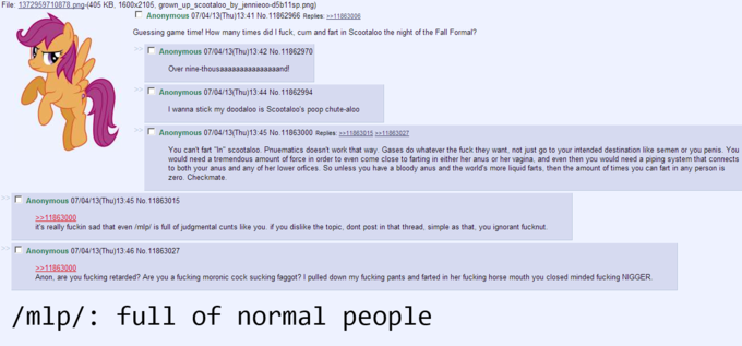Full of normal people