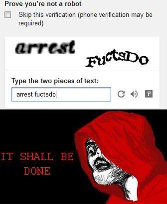 Arrest Fuctsdo