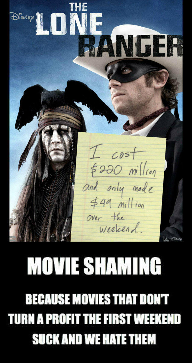 Lone Ranger Shaming