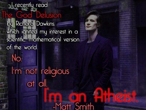 Matt Smith on The God Delusion