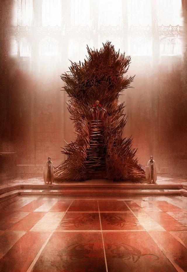 Iron Throne According to George R. R. Martin
